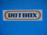 ROTBOX Funny Retro Ratlook hoodride car sticker Bombing Decal JDM x 1
